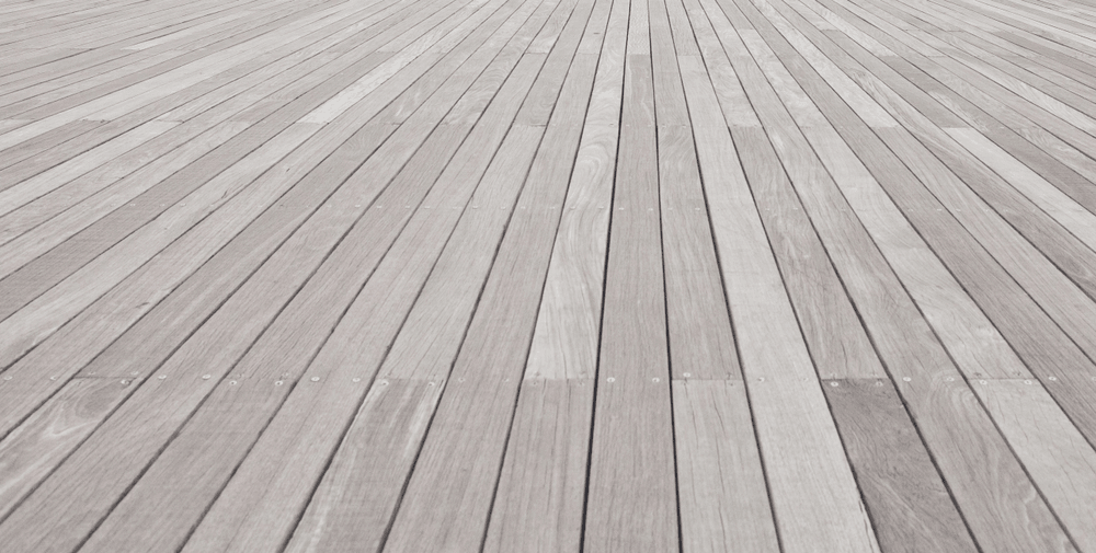 clean your wood deck